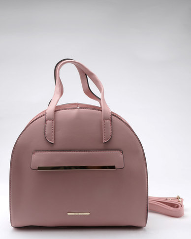 Dolce Vita Mini Structured Handbag Light Pink  e0da53ba31338