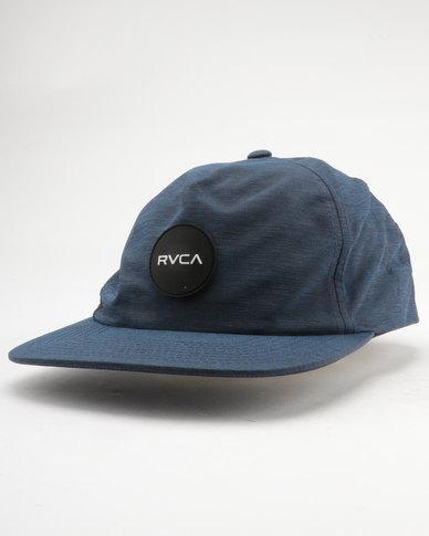 RVCA Motor Delux Snapback Blue  701a5fd8d5e