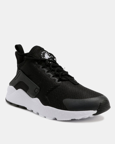 898e23d90f1e8 Nike Womens Air Huarache Run Ultra Black White