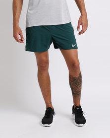 Nike Performance Distance 2-in-1 Men's Flex Running Shorts Teal