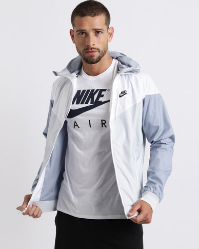 0c9240a613 Nike Performance Mens Windrunner Jacket Pure Platinum White