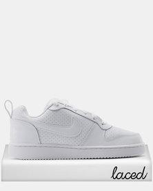 Nike Women's Nike Court Borough Low Sneaker White