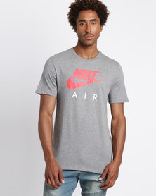 Nike Men's Short Sleeve Air 3 Sportswear Tee Grey