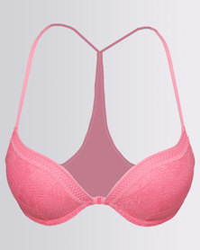 Women'secret Padded Underwire Bra 70 Pink