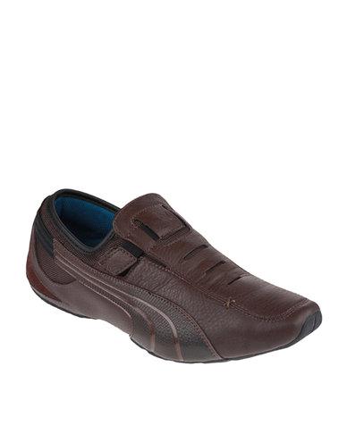 ad560f9c0205b4 Puma Vedano 5 Casual Shoe Brown