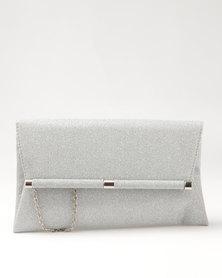 Blackcherry Bag Smart Clutch Bag Silver
