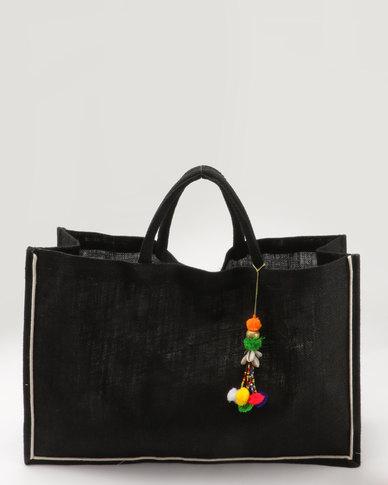 Joy Collectables Velcro Close Bag Black