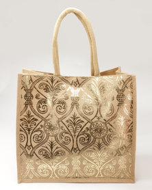 Joy Collectables Glam Shopper Bag Gold