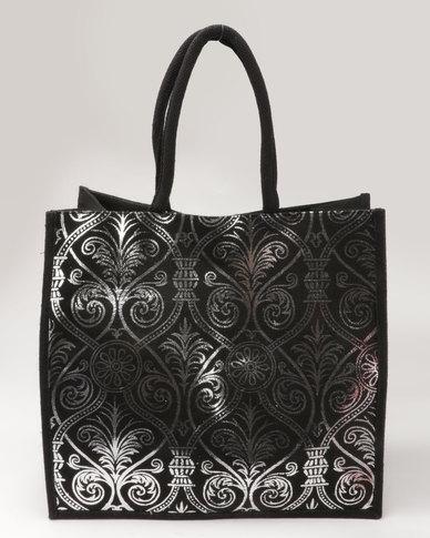 Joy Collectables Glam Shopper Bag SIlver