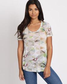 Jenja Printed T-Shirt Green