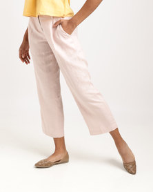 Jenja Pleat Pants Rose