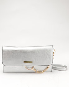 Blackcherry Bag Clutch Bag Silver