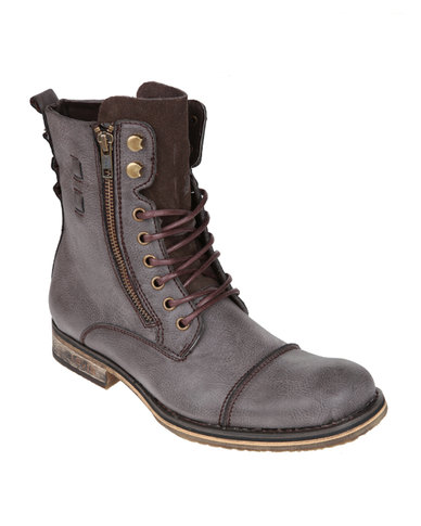 Levi's Amigo Ankle Boots Chocolate