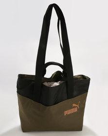 Puma Core Style Large Shopper Green