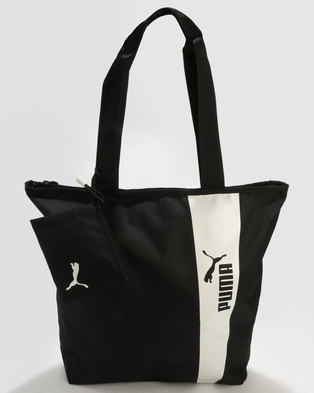 Puma Core Style Shopper Black 1b5b88d9c0649