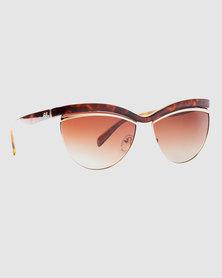 Slaughter & Fox Carnegie Hill Women C4 Sunglasses Rose Dust