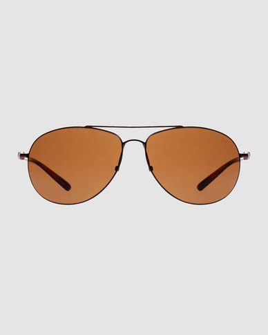 Slaughter & Fox Insurance District Unisex C2 Sunglasses Lion Brown