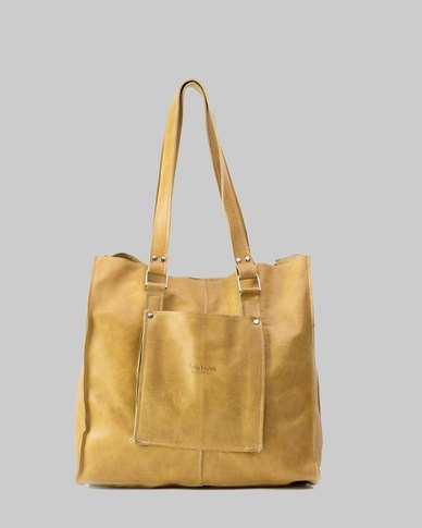 Emily Louise Julia Tote Handbag - Hazelnut