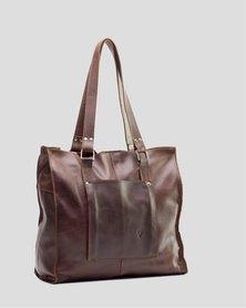 Emily Louise Julia Tote Handbag - Tabacco