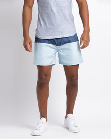 Rip Curl Lazed Volley Shorts Light Blue