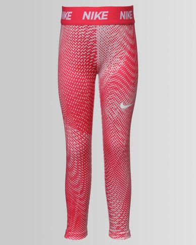 ad9c930d15602 Nike Girls Dri-Fit Sport Essentials Leggings Red | Zando