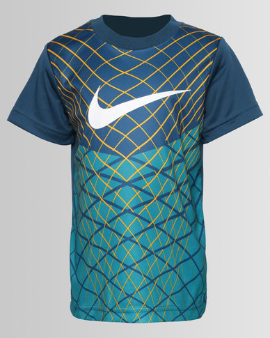 579256bba685 Nike Fly Knit Inspired Tee Blue
