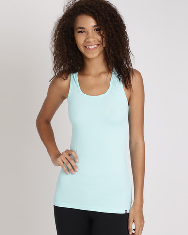 Under Armour Tech Victory Tank Blue Infinity