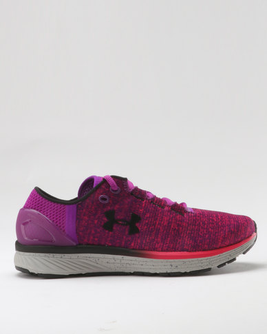 Under Armour Women's Charged Bandit 3 Running Shoes Purple Rave