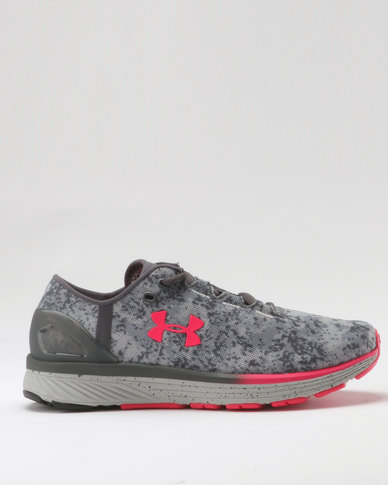 0414e11bc1cf Under Armour Women s Charged Bandit 3 Digi Running Shoes Overcast Gray