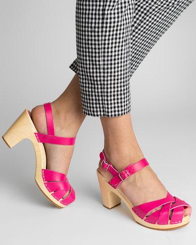 Hasbeens Hasbeens Pink Katja Sandal Sandal Sandal Zando Swedish X0AqRxw1q