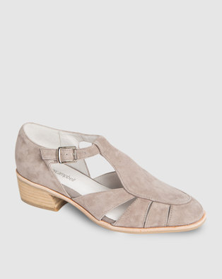 Jeffrey Campbell Hyannis Flats Taupe Suede