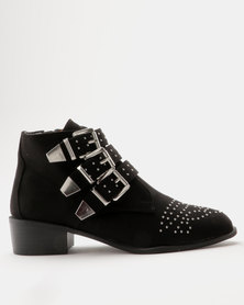 New Look WF Coolita SDT Stud Boot Black