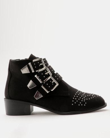 New Look WF Coolita SDT Stud Boot Black