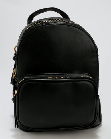 clearance prices numerousinvariety classic shoes New Look Mini Backpack Black