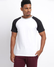New Look Raglan Sleeve T-Shirt White
