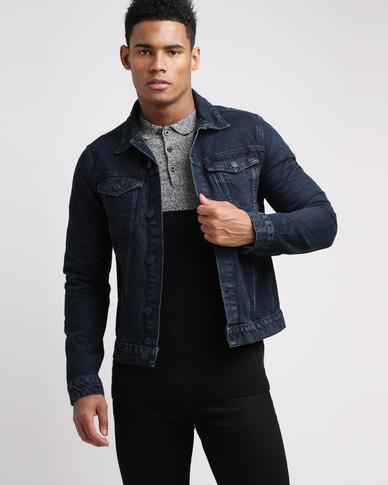 New Look Denim Jacket Dark Blue  0f0388ff7401