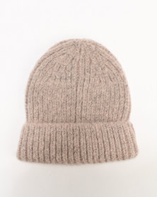 New Look Brushed Beanie Light Pink