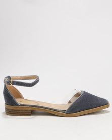 Footwork Emmanuella Flat Slip On Charcoal