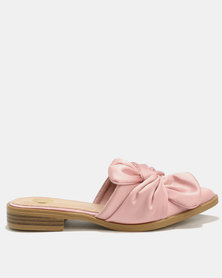 Footwork Ami Slip On Flats Rose Pink