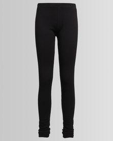 New Look 2 Pack Leggings Black