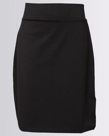 New Look Li Tube Skirt Black