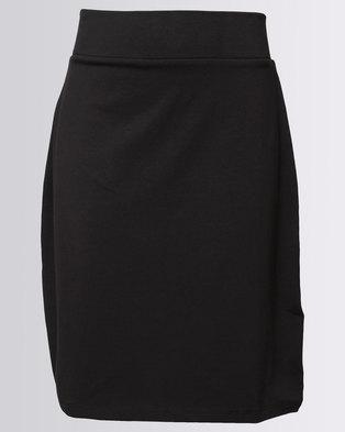 New Look Li Tube Skirt Black