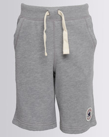 Converse Core French Terry C.T.P Shorts Grey