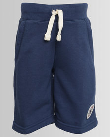 Converse Core French Terry C.T.P Shorts Navy