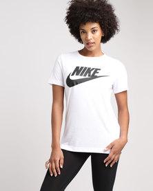 Nike Women's Sportswear Essential Tee White