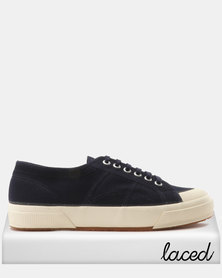 Superga Toe Cap Canvas Navy/White