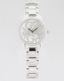 Guess Greta Bracelet Watch Silver-Plated