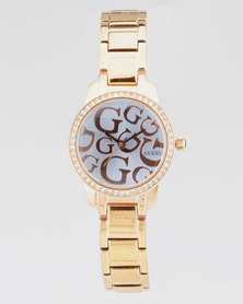 Guess Greta Bracelet Watch Rose Gold-Plated