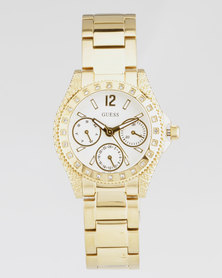 Guess Impulse Watch Gold-Plated