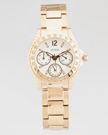 Guess Impulse Watch Rose Gold-Plated